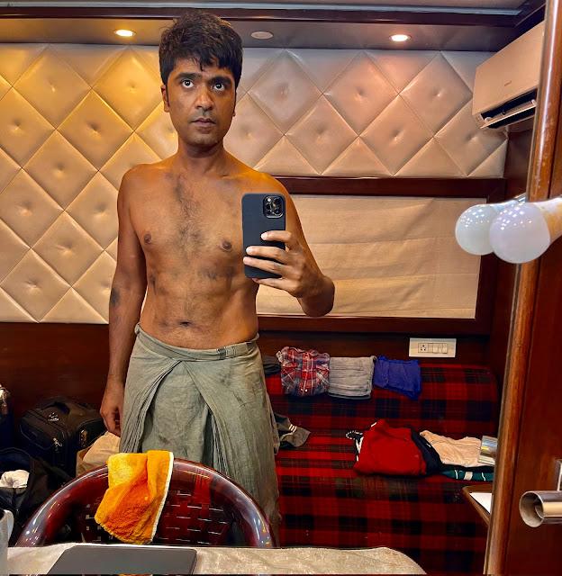 Silambarasan STR Latest Transformation for Vendhu Thanindhadhu Kaadu