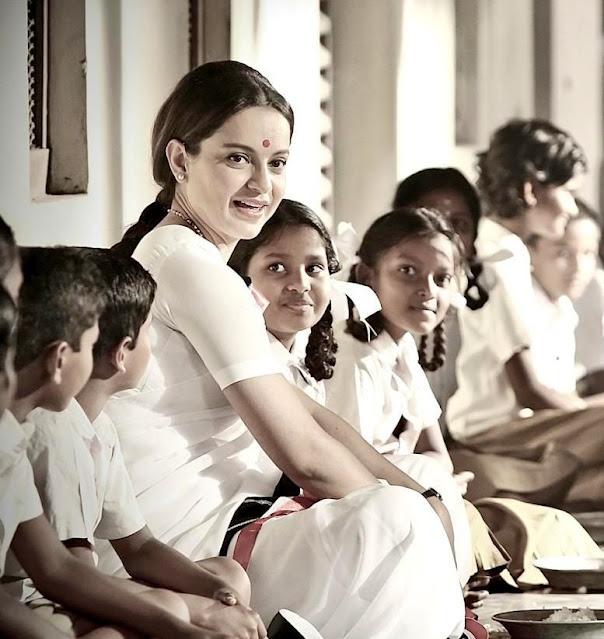 Kangana Ranaut's Upcoming movie Thalaivi Stills