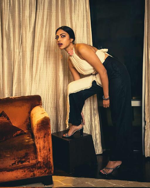 Dusky hot Actress Amala Paul Latest Stills