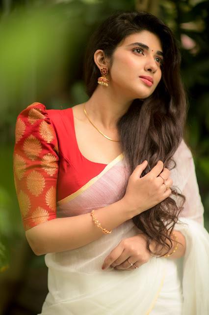 Actress Pragya nagra lovely saree pictures