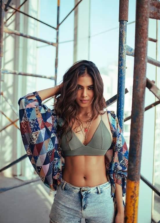 Actress Malavika Mohanan's Latest Photoshoot Stills