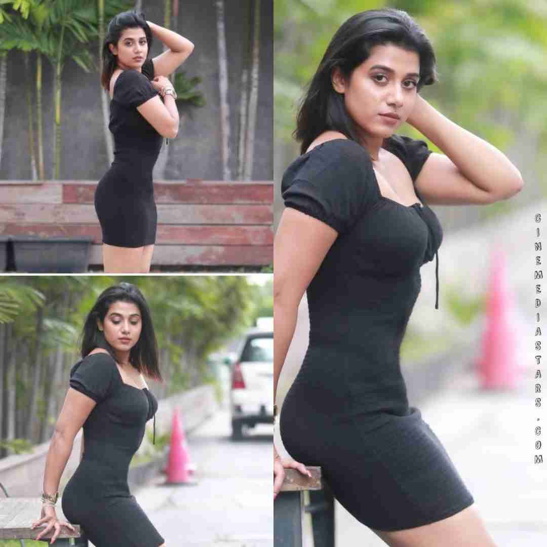 Actress shilpa manjunath bodycon outfit