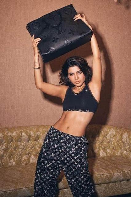 Actress Samantha Akkineni Sexy Hot Photoshoot Stills for Louis Vuitton