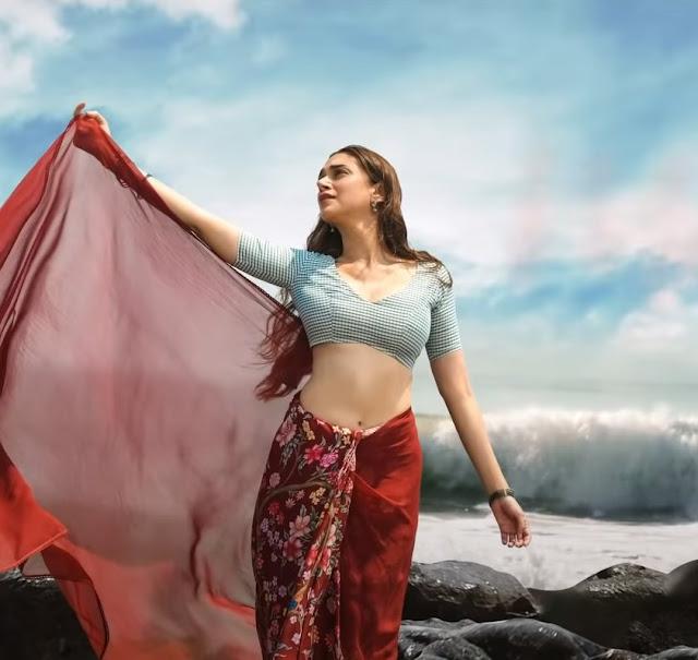 Aditi Rao Hydari Latest Snaps from Cheppake Cheppake Lyrical Video Song