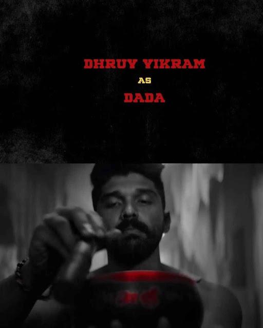 Dhruv Vikram Look from the Movie Mahaan directed by karthik subbaraj
