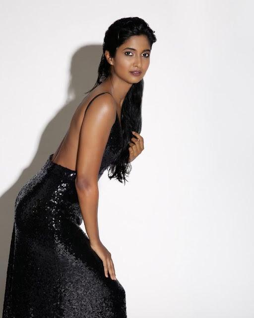 Dusky beauty Keerthi Pandian is Gorgeous Latest Photoshoot Stills