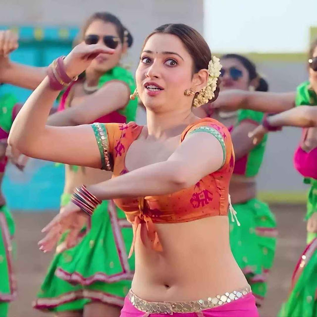 Gorgeous Tamannaah bhatia in Jwalareddy Song from Seetimarr