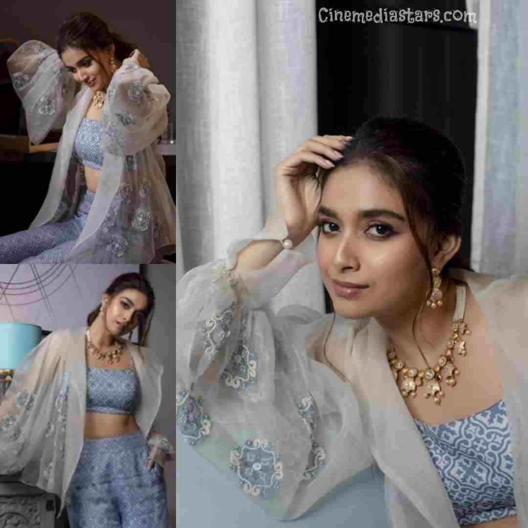 Actress Keerthy Suresh Latest photoshoot for Jos Alukkas Jewelry