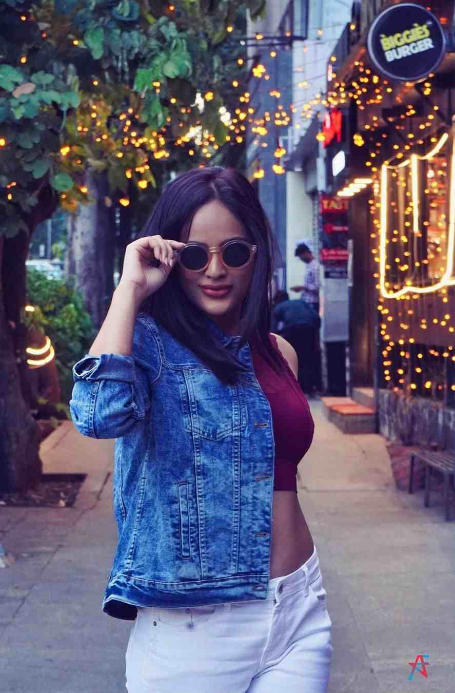 Actress Nandita Swetha Latest Street Fashion Photoshoot