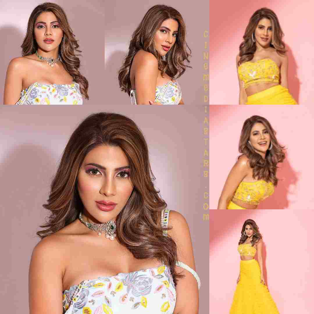 Actress nikki tamboli fab look magazine photoshoot
