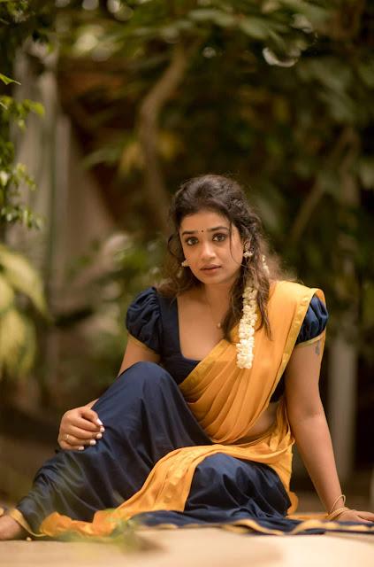 Actress Swayam Siddha Traditional Photoshoot Stills