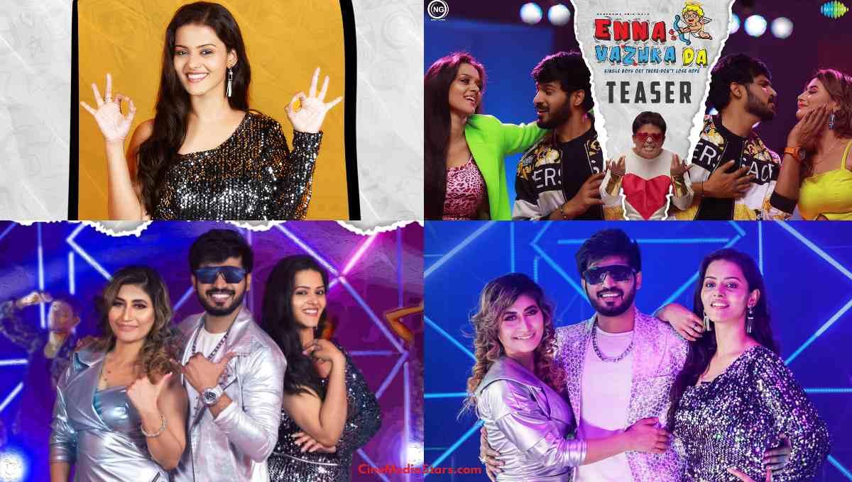 Enna Vazhka Da Music Video and Posters Featuring Rakshan Sunita Gogoi Swathishta and GPMuthu