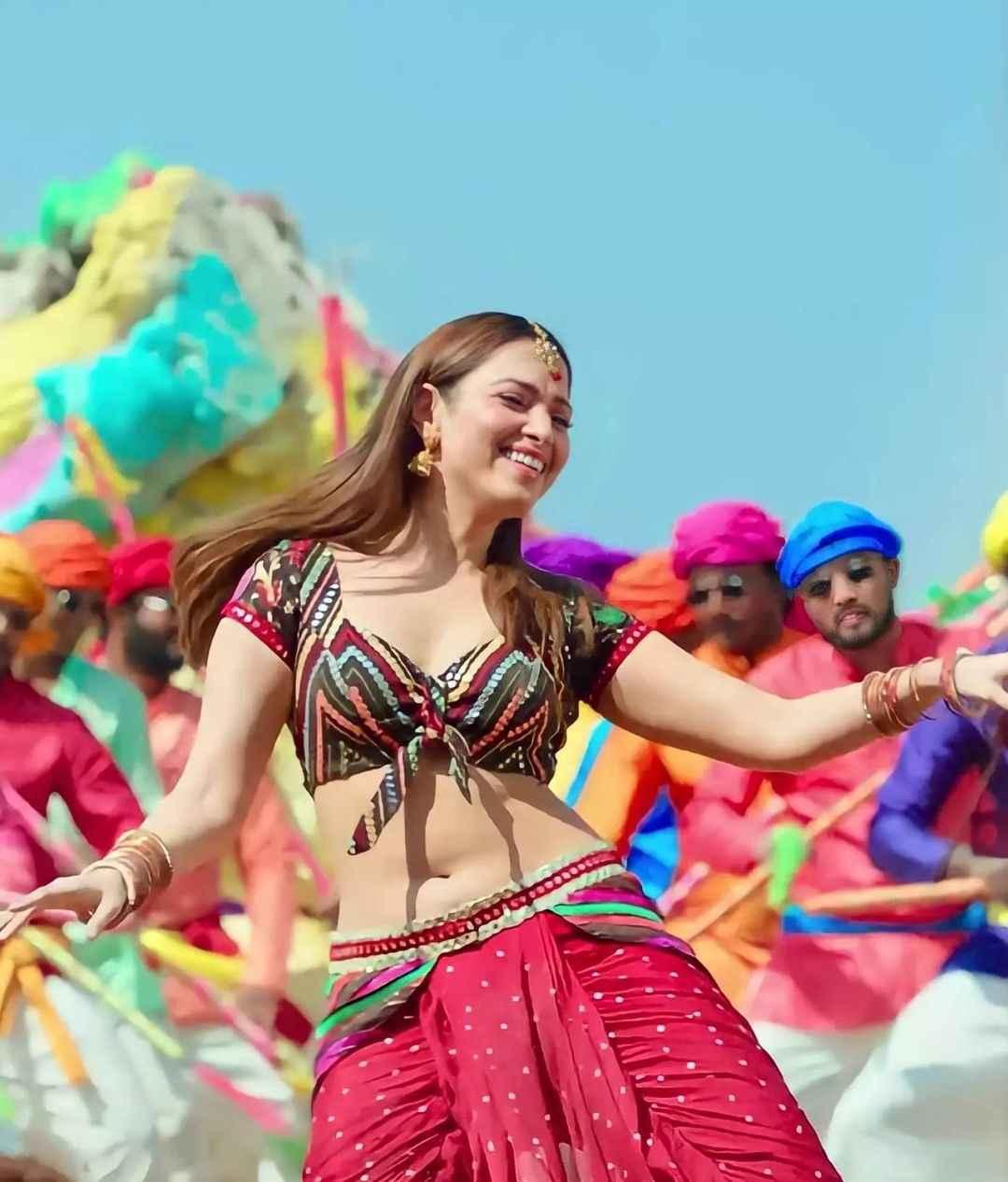 Actress Tamannaah Bhatia Hot Pics from Telugu Movie Seetimaarr