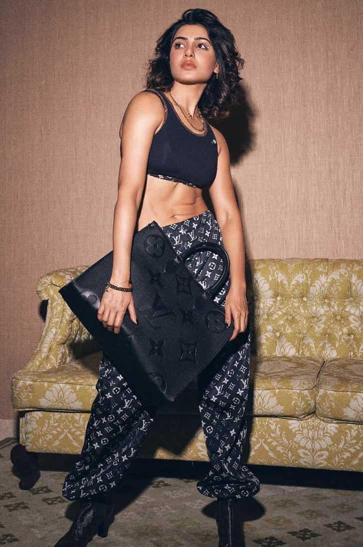 Actress samantha akkineni louis vuitton photoshoot