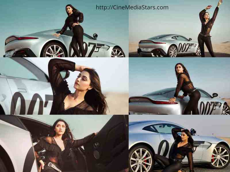 Actress Mamta Mohandas bond girl photoshoot